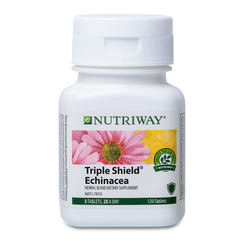 NUTRIWAY® Triple Shield Echinacea - 120 Tablets