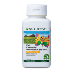 NUTRIWAY® Kids Chewable Multivitamin & Iron - 100 Tablets