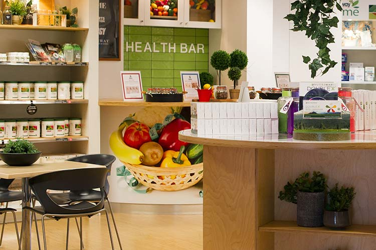 Brisbane Business Centre Facilities Health Bar