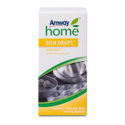 DISH DROPS™ SCRUB BUDS Stainless Steel Scouring Pads