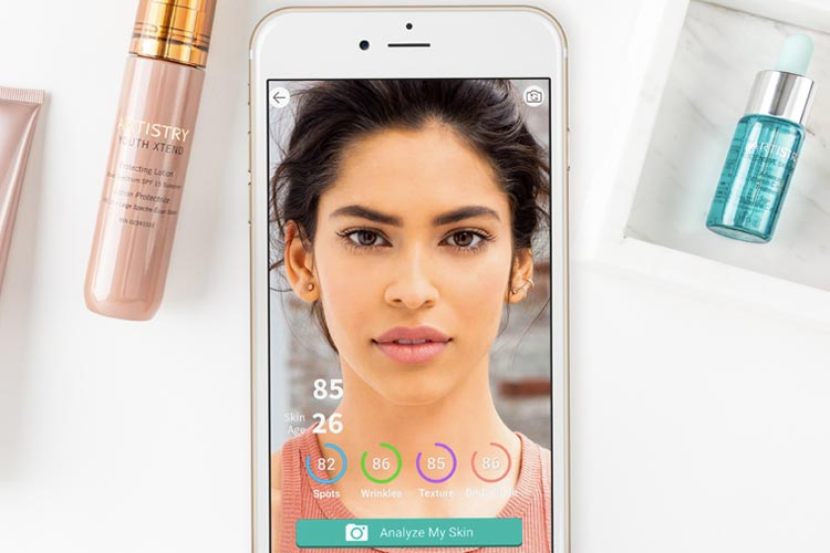 ARTISTRY Virtual Beauty App Skin Analysis