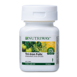 NUTRIWAY® Tri-Iron Folic - 90 Tablets