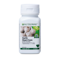 NUTRIWAY® Garlic Heart Care Formula - 120 Tablets
