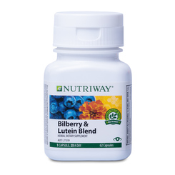 NUTRIWAY® Bilberry & Lutein Blend - 62 Capsules