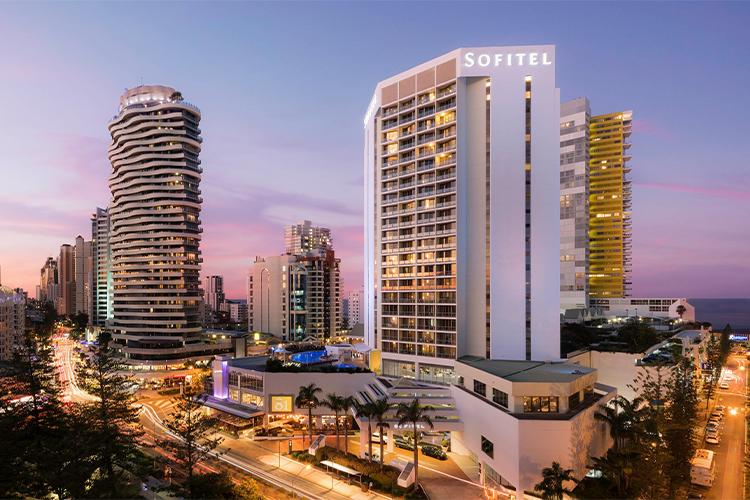 Sofitel Hotel, Broadbeach on the Gold Coast