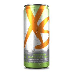 XS™ Energy Drink Mango Pineapple Guava Caffeine Free – Pack of 6
