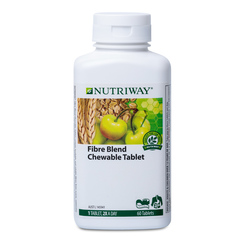 NUTRIWAY® Fibre Blend Chewable Tablet - 60 Tablets