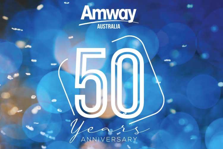 Amway Australia 50th Anniversary